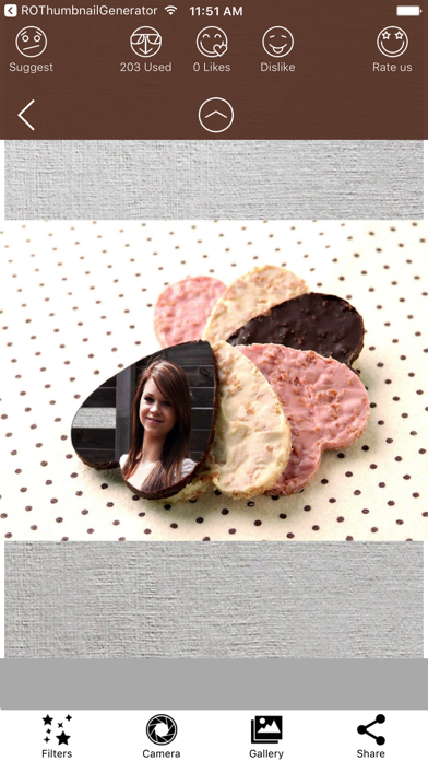 Chocolate Day Photo Frames & Picture Frame Effects screenshot two