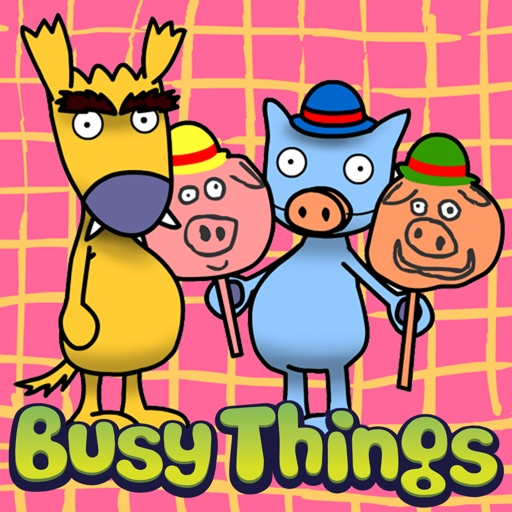 The Three Little Pigs presented by Dog and Cat