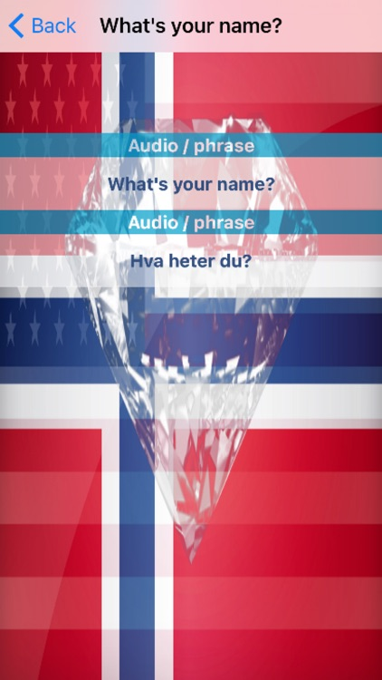 Norwegian Phrases Diamond 4K Edition