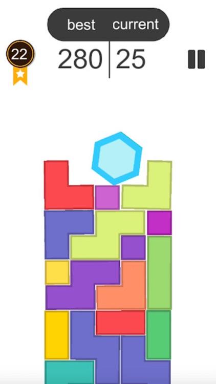六边形俄罗斯方块新玩法
