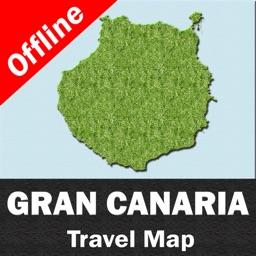 GRAN CANARIA ISLAND (SPAIN) – Travel Map Offline