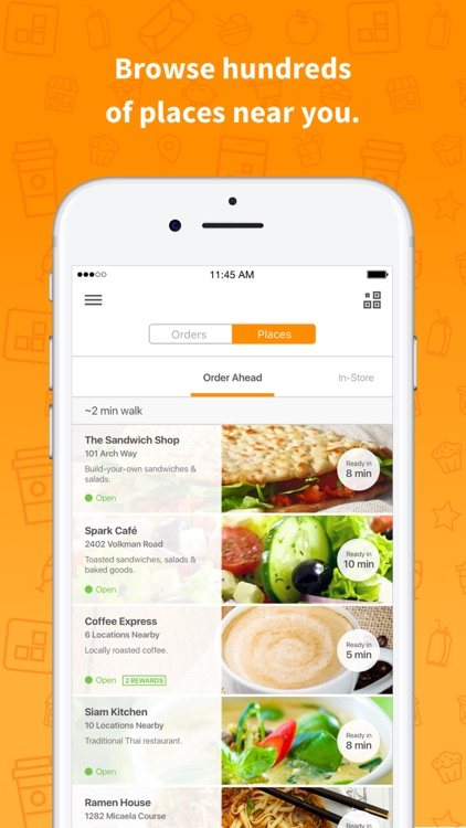 LevelUp .: Grab your lunch faster
