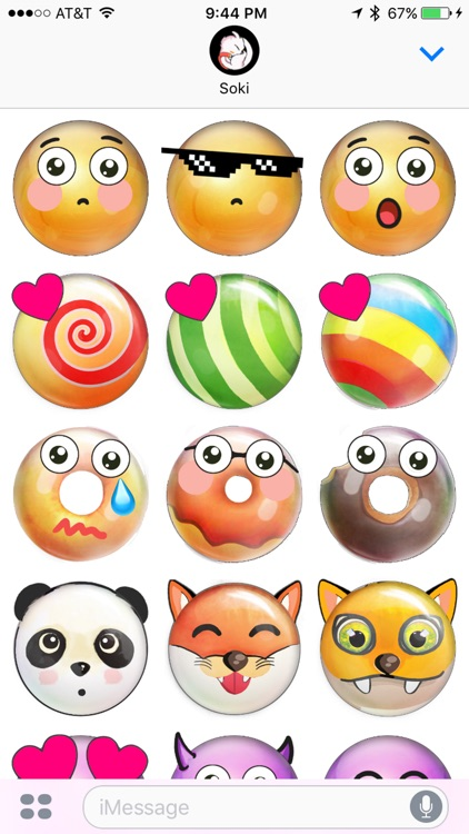 Candy Up Stickers