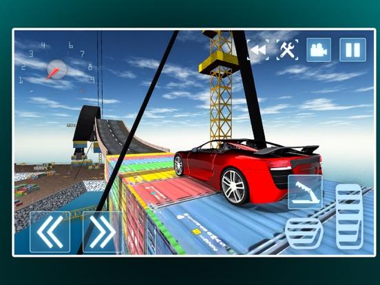 Трюки экстрим автомобиль дрейфующих для iPad