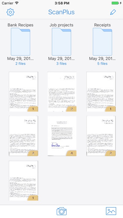 Scan to PDF Document Scanner - OCR Scannable Photo screenshot-3