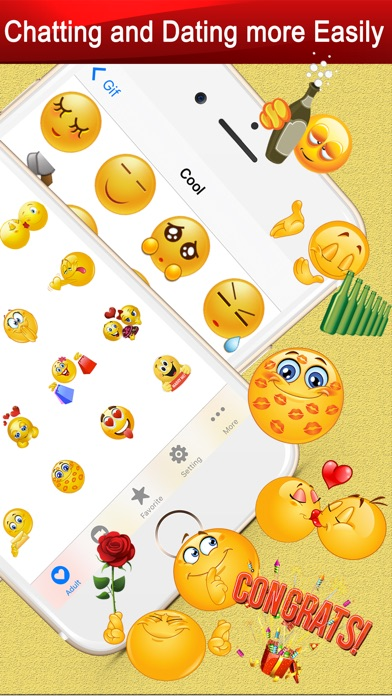 Twitch Emoji - Emotion keyboard Text Adult Smileys-1