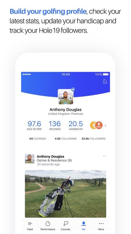 Golf GPS, Scorecard & Tee Time Booking - Hole19 screenshot-3