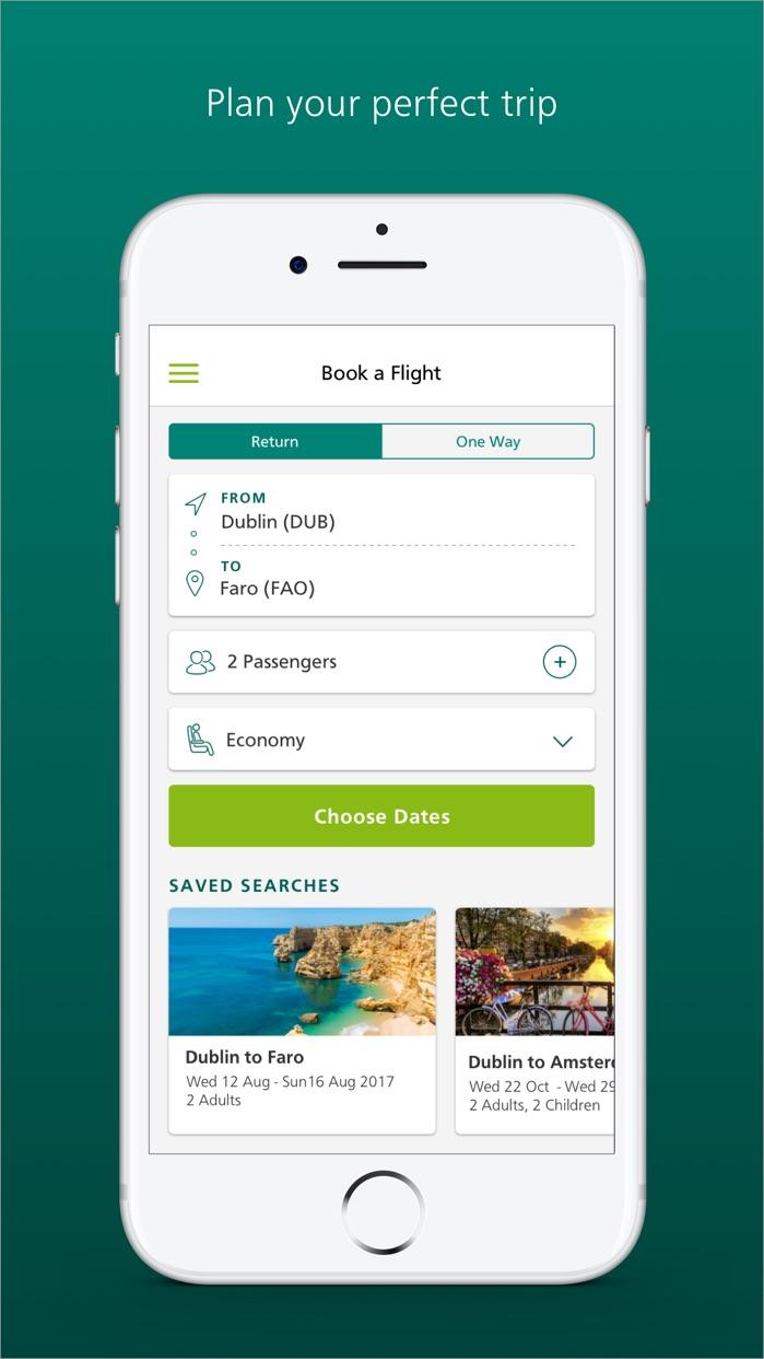 Aer Lingus Screenshot