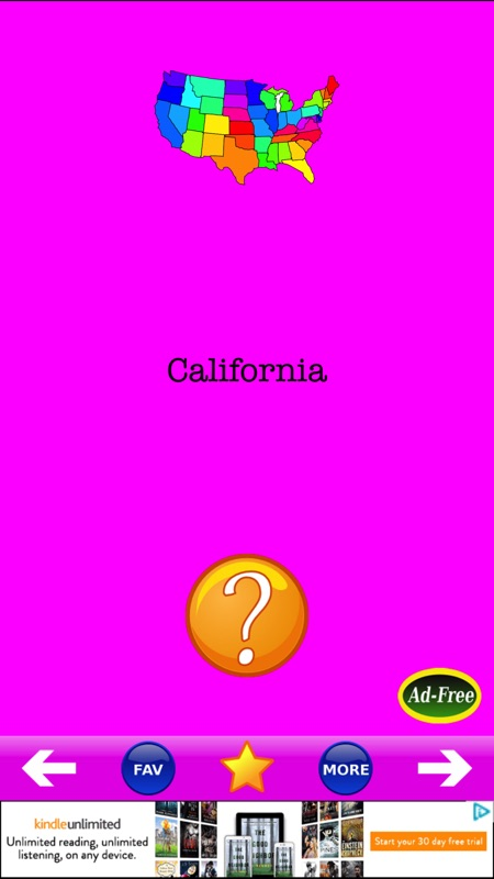 U S  State Capitals! States & Capital Quiz Game - Online