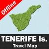 TENERIFE (SPAIN) – GPS Travel Map Navigator