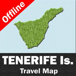 TENERIFE (SPAIN) – GPS Travel Map Navigator