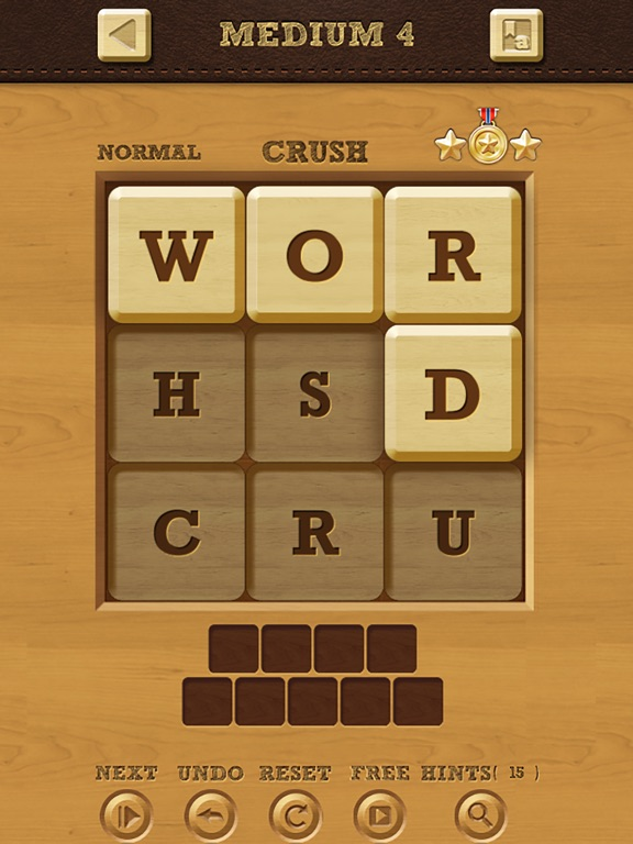 Words Crush: Hidden Words! на iPad