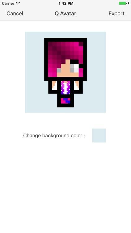 Cube Skin Girl screenshot-3