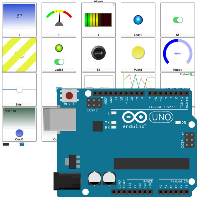 Arduino manager on the app store