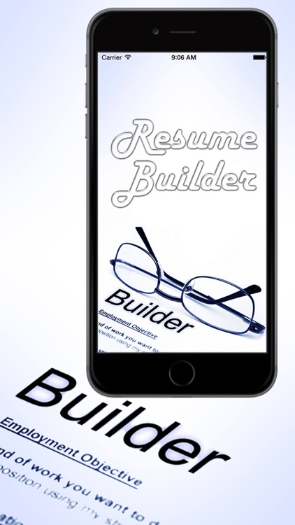 Smart Resume Builder - Professional CV Maker