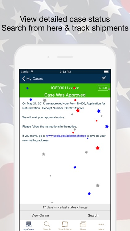 Case Tracker & Searcher - for USCIS Immigration
