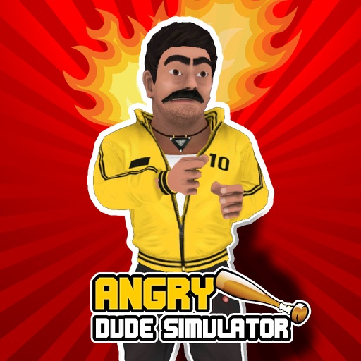 Angry Dude Simulator icon