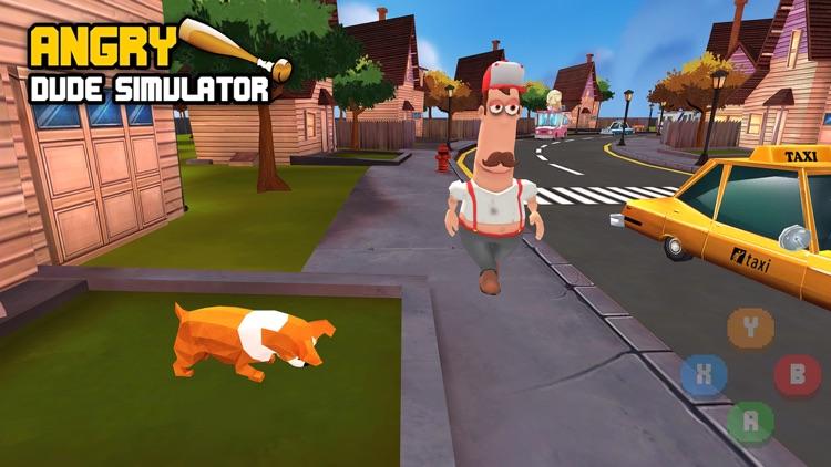 Angry Dude Simulator screenshot-0