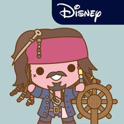 Ícone do app Disney Stickers: Pirates of the Caribbean