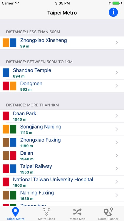 Taipei Metro screenshot-0