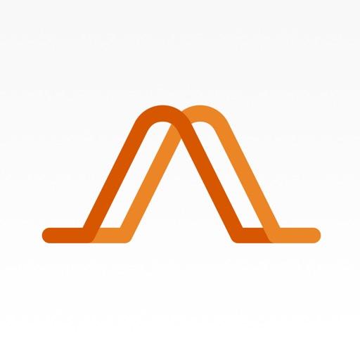 Audm app logo