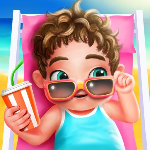 Summer Beach Baby Care Games - Newborn Baby iOS App