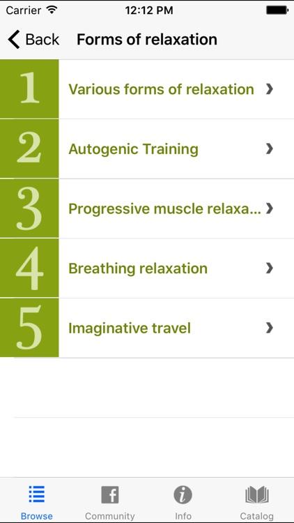 Autogenic Training Progressive Muscle Relaxation screenshot-3