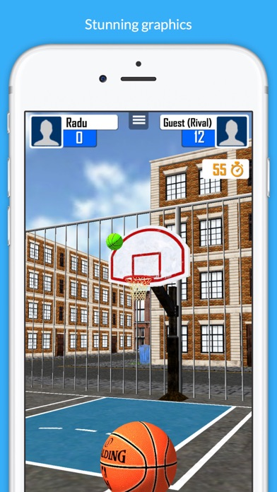 Basketball Shooter Stars screenshot 2