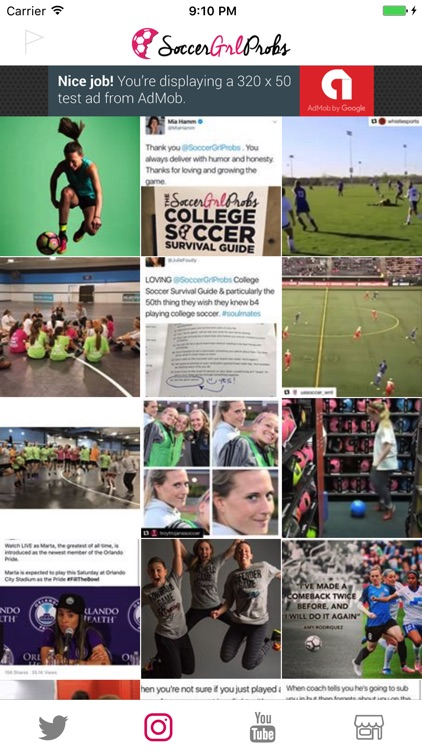 SoccerGrlProbs screenshot-2