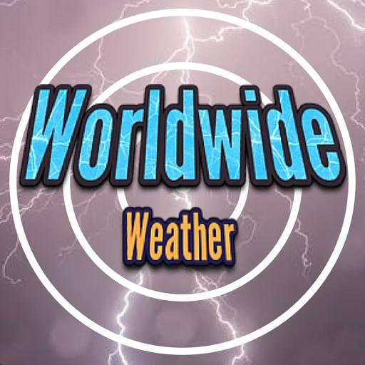 Worldwide weather radar