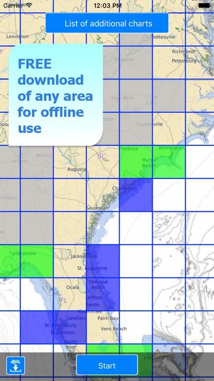 Aqua Map Florida - GPS Offline Nautical Charts screenshot-4