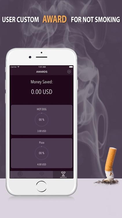 Quit Smoking-App : Stop Smoking Cigarettes screenshot-3