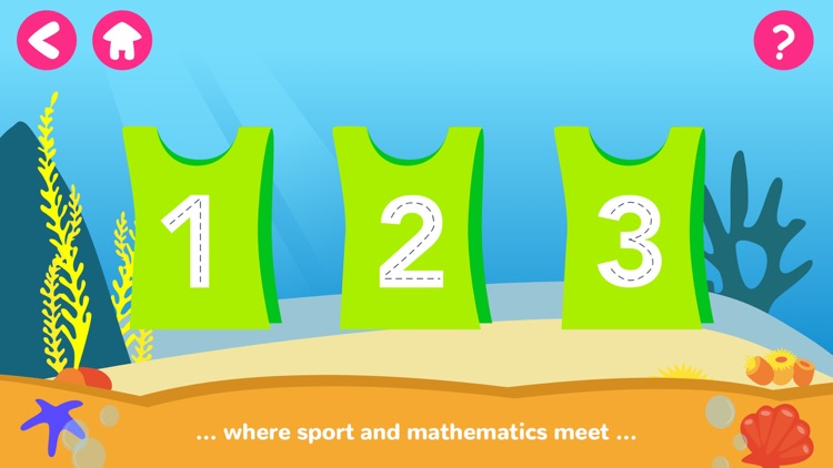 Math Tales Ocean: stories and games for kids screenshot-1