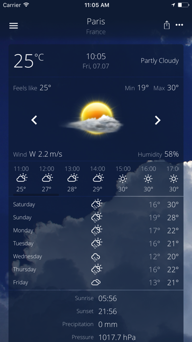 The Real Weather Premiumのおすすめ画像2