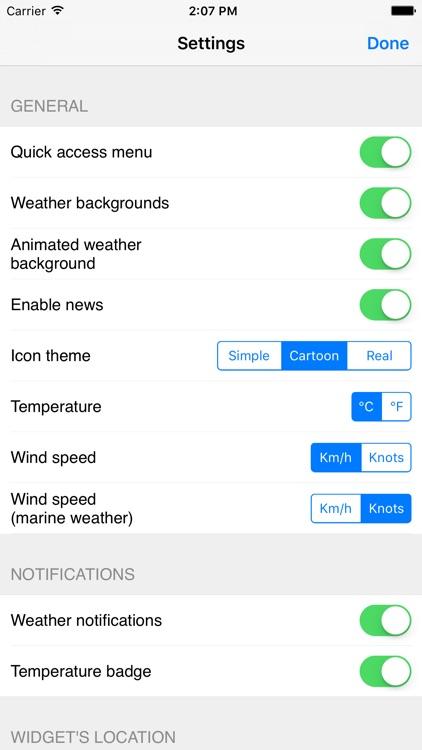 Meteo Plus - Weather powered by iLMeteo.it screenshot-4