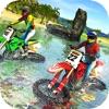 Beach Water Surfer Bike Racing - Motorbike Riding