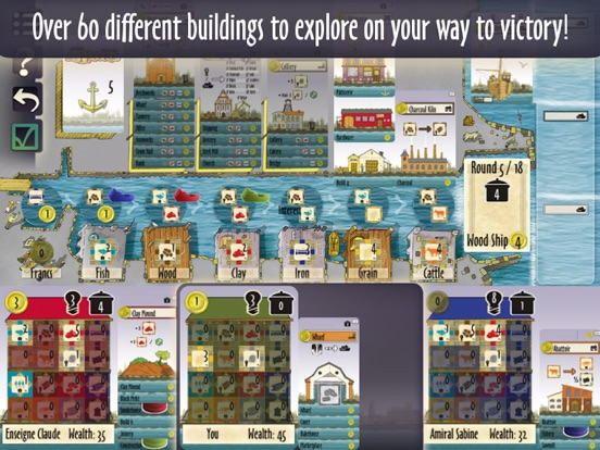 Le Havre (The Harbor) для iPad