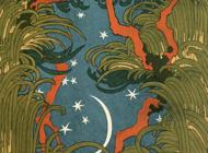 Otto Eckmann Artworks Stickers