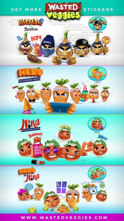 Wasted Veggies: Hero screenshot-4