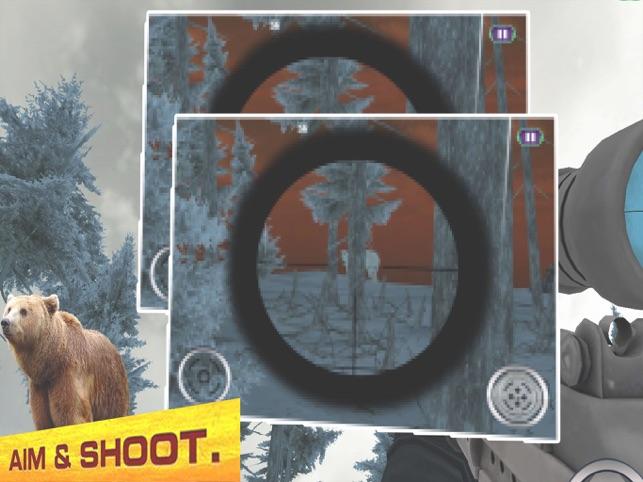 Big Bear Sniper 2017, game for IOS