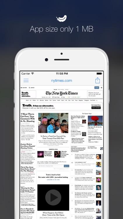 Minimal Browser - Smart Desktop Browsing screenshot-3