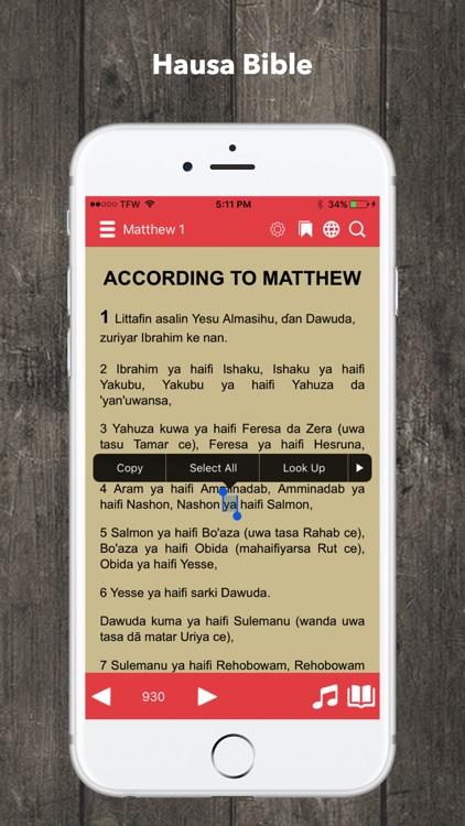 Hausa Bible Audio screenshot-3