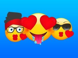Modern Emoji Stickers for Texting