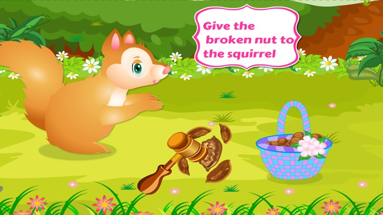 Dressup Pet Games:Squirrel Care
