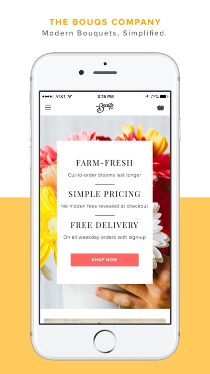 Bouqs: Fresh Flowers. Free Delivery. Farm Direct.