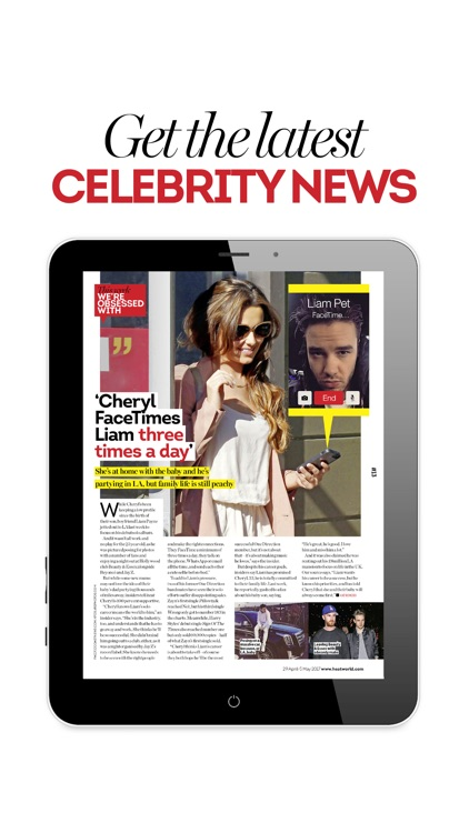 Heat Magazine screenshot-1