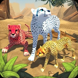 Cheetah Family Sim - Wild Africa Cat Simulator 3D