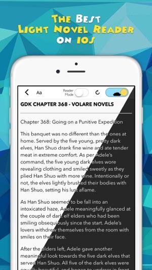 Novel Updates, The Best Reader for Light Novels on the App Store