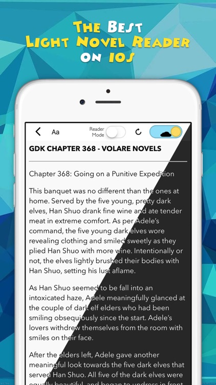 Novel Updates, The Best Reader for Light Novels screenshot-0