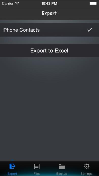 Screenshot for Kontakte nach Excel in Austria App Store